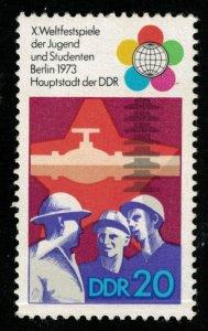 1973, DDR, BERLIN, 20Pfg., Germany, MNH, ** (T-9553)