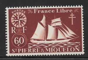 Saint Pierre and Miquelon Mint Never Hinged [4141]