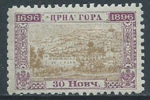 Montenegro, Sc #53, 30n MH