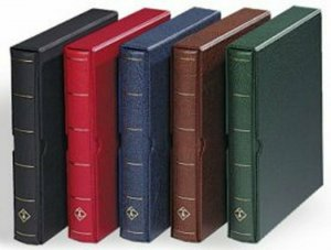 Lighthouse Vario-F 3-Ring Binder with Slipcase - RED  303338