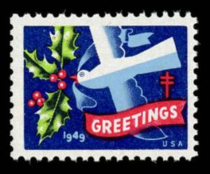 WX 145 Christmas Seal Mint (NH) 1949