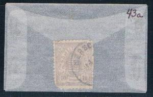 Luxembourg 43a Used COA 1880 (L0175)