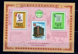 Z603 JLstamps 1984 taiwan china s/s mnh #2436a stamps