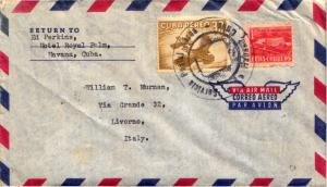Cuba 1c Proposed Communications Building Postal Tax and 30c Quail 1957 Servic...