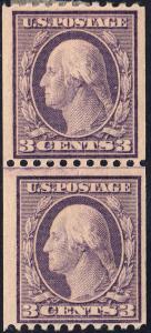 U.S. 489 F+VF MH GL PAIR (102818)