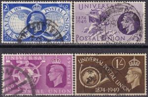 Great Britain #276-9  F-VF Used   (A18880)