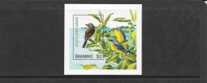 BIRDS - BAHAMAS #830  MNH