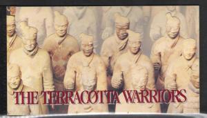 United Nations NY #718 Terracotta Warriors Booklet