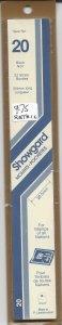 SHOWGARD MOUNT, 20 MM X 215 MM, NEW & UNOPENED, RETAIL $9.75