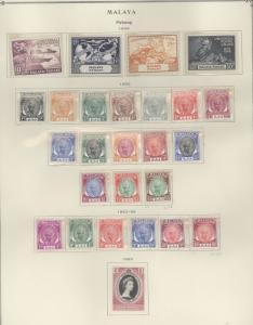 Malaya Pahang 46-71 Mint VF HR See note