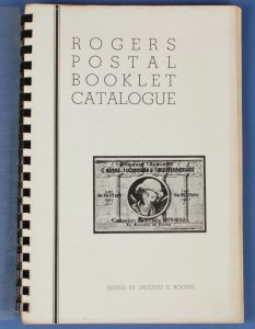 Booklets : Rogers Postal Booklet Catalogue. SCARCE!