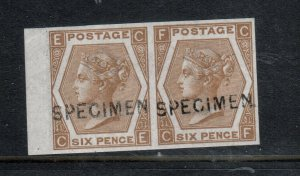 Great Britain #59s (SG #122bs SG Specialized #J79s) Extra Fine Never Hinged Pair