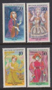 Germany 1225-1228 MNH VF
