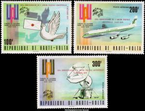 Burkina Faso Scott C189-C191 Mint never hinged.