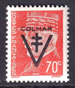 FRANCE 434 1944 LIBERATION COLMAR OVERPRINT OG NH U/M VF
