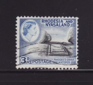 Rhodesia and Nyasaland 162 U Rhodes' Grave (A)