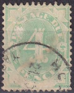 Australia #J13 F-VF Used   CV $32.00  (A18977)
