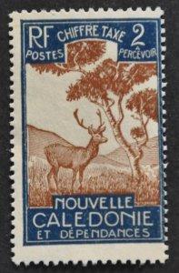 DYNAMITE Stamps: New Caledonia Scott #J19 – UNUSED