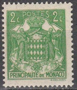 Monaco #146 F-VF Unused   (S7785)