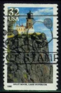 US #2969 Split Rock Lighthouse; used (0.30)