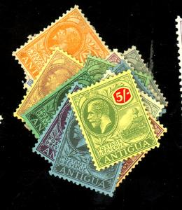 Antigua #42-63 MINT F-VF OG LH/HR Cat $292