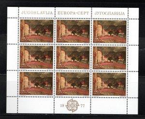 Yugoslavia SC1333-1334 Baka Katorska ByMiloMilunivic-Europa-Sht.Of9 meh 1977