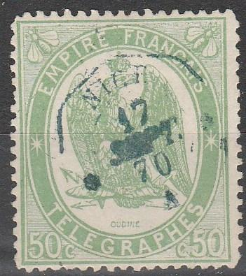 France  #YV6  F-VF Used  (A11274)