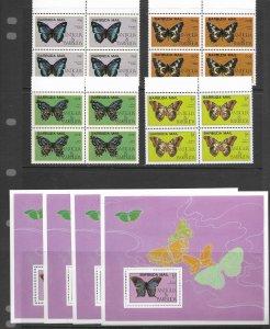 Barbuda 714-8 MNH cpl set x 4, f-vf, see desc. 2020 CV$ 408.00