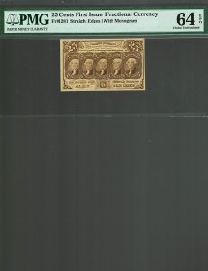 Fr. #1281 - 25c - First Issue Frantional Currency