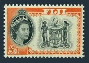 Fiji 189,MNH.Michel 167. Queen Elizabeth QE II definitive 1964.Arms.