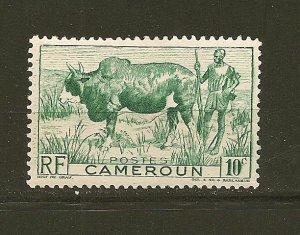 Cameroun 304 Zebu Herder Mint Hinged