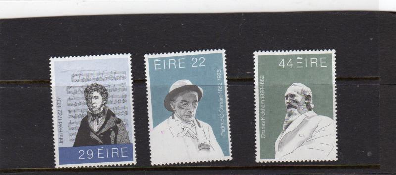 Ireland 1882  Literary and Musical Figures MNH