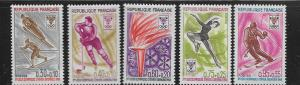 FRANCE, B411-B415, MNH, OLYMPIC GAMES