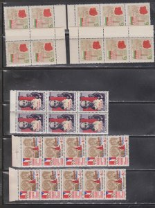RUSSIA Hugh Lot Of MNH Multiples With Duplication - CV Over $550