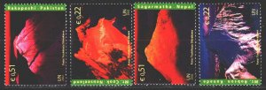 UN Vienna. 2002. 363-66. Mountains, geology. MNH.