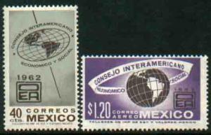 MEXICO 926, C263, Interamer. Economic & Soc Council Mint, NH