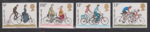 GREAT BRITAIN Scott # 843-6 MNH - Bicycles