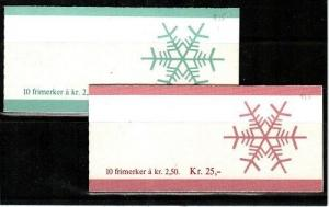 Norway Scott 900a-901a Mint NH booklets (Catalog Value $40.00)