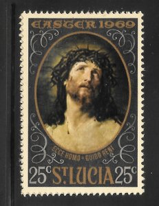 St Lucia Mint Never Hinged [6824]