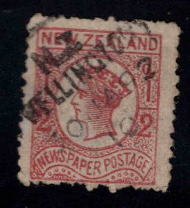 New Zealand Scott P3 Used Newspaper tamp