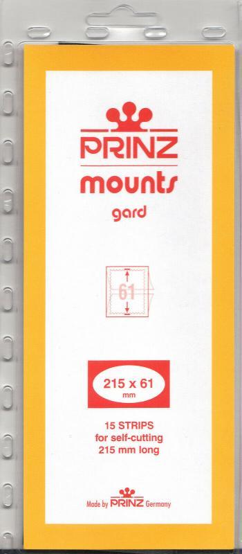 PRINZ BLACK MOUNTS 215X61 (15) RETAIL PRICE $7.99