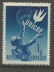 AUSTRIA  559  HR,  UNICEF