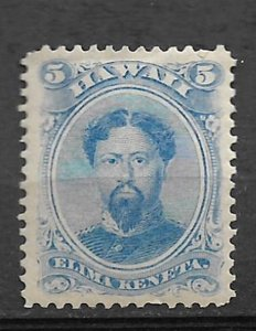 COLLECTION LOT #405 HAWAII # 39 1882 CV=$15 MH 2 SCAN