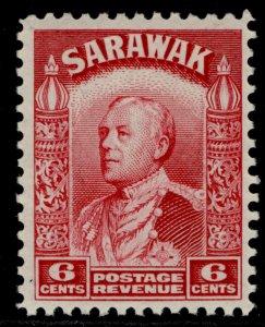 SARAWAK GV SG111, 6c carmine, M MINT.