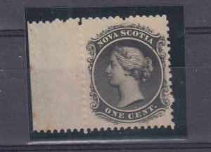 NOVA SCOTIA REF(2211)  # 8 VF-MNH 1cts WITH TAB BLACK CAT VALUE $40
