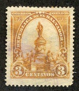 El Salvador, Scott #285, Used