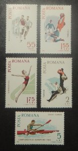 Romania 1789-93. 1965 Spartacist Games, NH
