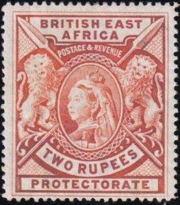 British East Africa 1898 SC 103 MLH