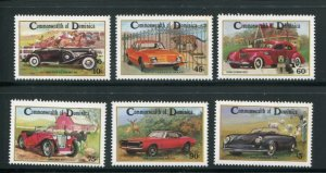 Dominica MNH 810-5 Automobiles LOOOOOOK!!!!!