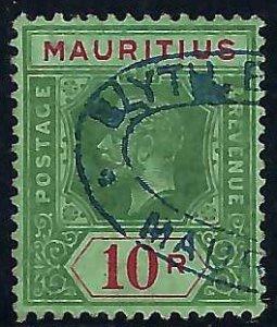 Mauritius Scott #159 Used VF